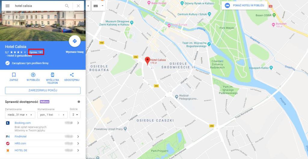 google maps usuwanie recenzji użytkowników